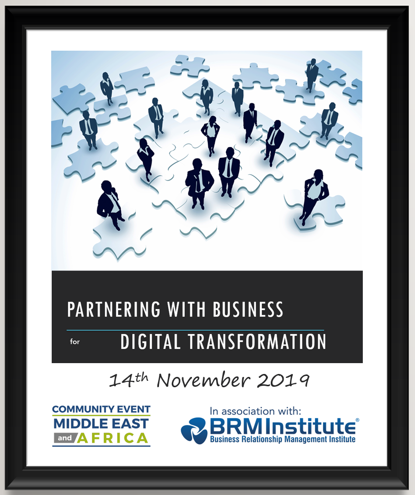 Partnering with Business for Digital Transformation